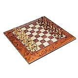 Best チェスボード - フルサイズ マグネット式チェスセット 15.5インチの大判チェスボード&耐久性に優れたチェスピース 2806 Review