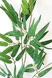 山久 七夕飾り お盆に お手入れ簡単 笹竹 大サイズ 約120cm CT触媒加工 1606-0013 造花 シルクフラワー