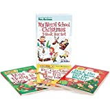 My Weird School Christmas 3-book Box Set: Miss Holly Is Too Jolly!, Dr. Carbles Is Losing His Marbles!, Deck The Halls, We're