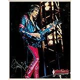 Judas Priest Glenn Tipton withギターPortraitヴィンテージ80s 8