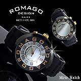 【ROMAGO DESIGN ロマゴ デザイン】(RM015-0162PL-BKRG )Attraction series アトラクションシリーズ(腕時計)