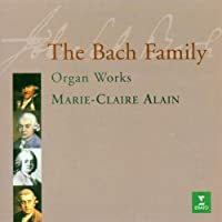 Bach Family;Organ Works by Marie-Claire Alain (1997-05-16)