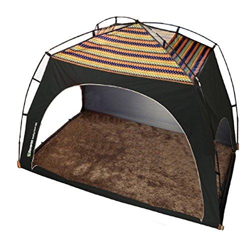 Daverse Heating Tent Heating House 暖房テント 室内テント 保温テント 無風地帯 冬用テント 2~3人用 (ディープグリーン) [並行輸入品]