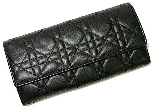 (ディオール)Christian Dior 財布 レディース ミニクラッチウォレット ブラック LADYDIOR CAL43060P-N0A3U CD-1706 [並行輸入品]