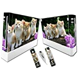 Linyuan 安定した品質 A0210* Gaming Console & Controller Skin Sticker Decal for Nintend Wii