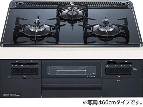 NORITZ (ノーリツ) ガスビルトインコンロ 75cmタイプ N3WQ7RWTS B07CHG9KJH 1枚目