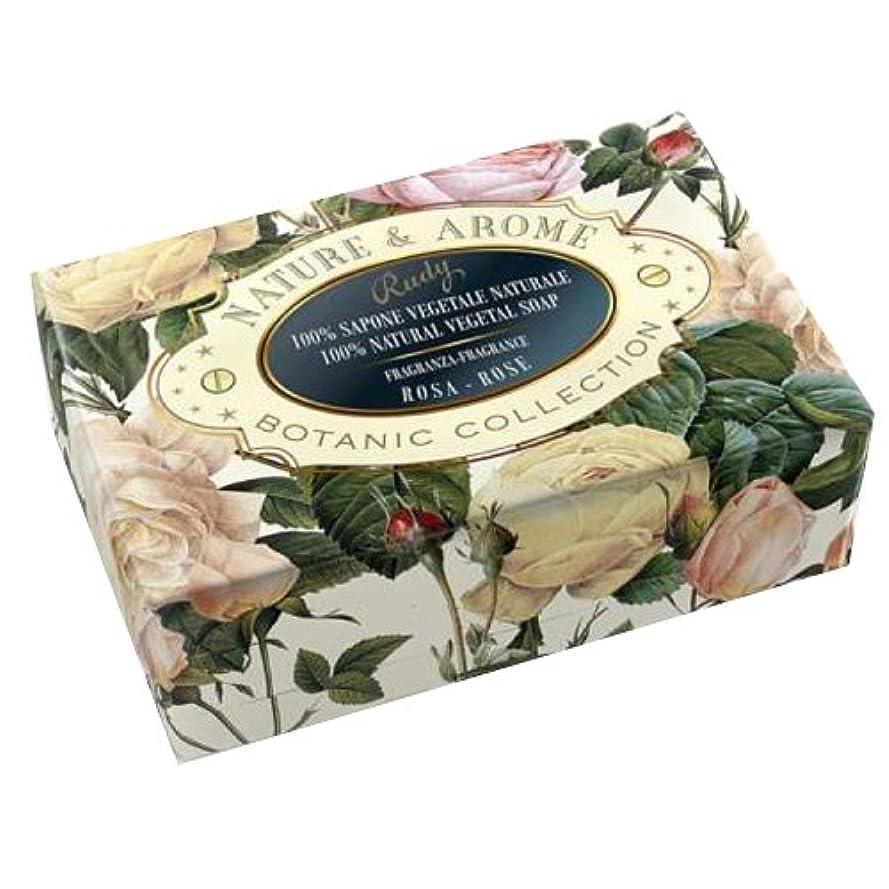土器薬を飲む忠実RUDY Nature&Arome SERIES ルディ ナチュール&アロマ Soap ソープ ローズ