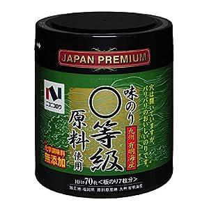 ニコニコのり 有明海産まる等級原料使用味のり卓上 70枚