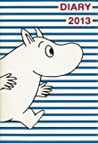 MOOMIN DIARY 2013 cover design by NIMES MOOMIN×blue border (宝島社ブランド手帳)