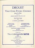 DROUET - Estudios Celebres (25) para Flauta (Fleury/Merry)