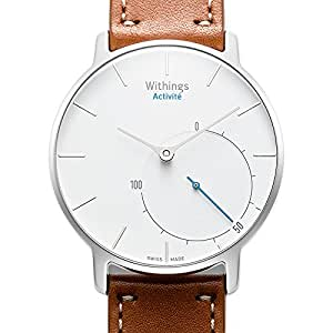 Withings スイス製スマートウォッチ Activité シルバー【日本正規代理店品】