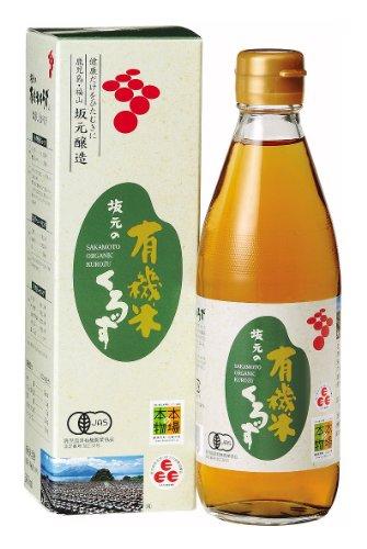 坂元醸造 坂元の有機米くろず 360ml