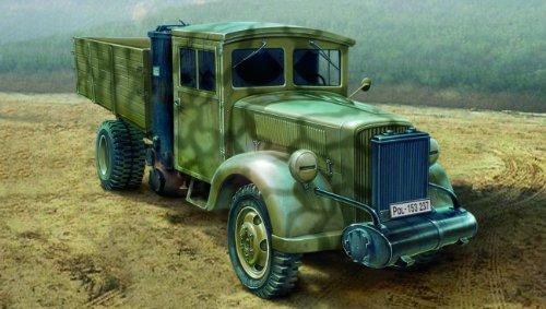 イタレリ 6457S 1/35 3トン中型トラック木炭エンジン (タミヤ・イタレリシリーズ:38457)