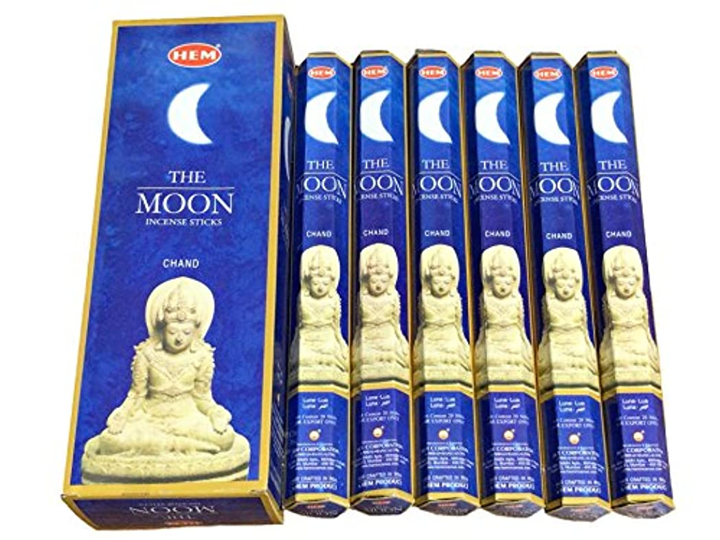 豪華な甘いマカダムHEM ムーン香(MOON/CHAND) スティックタイプ 1箱(1箱6筒×20本=120本入り)
