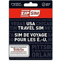 ZIP SIM データ通信専用(1GB、14日間)アメリカ用プリペイドSIM (※旧名称 READY SIM 2016年4月より商品名・パッケージが変更となりました)
