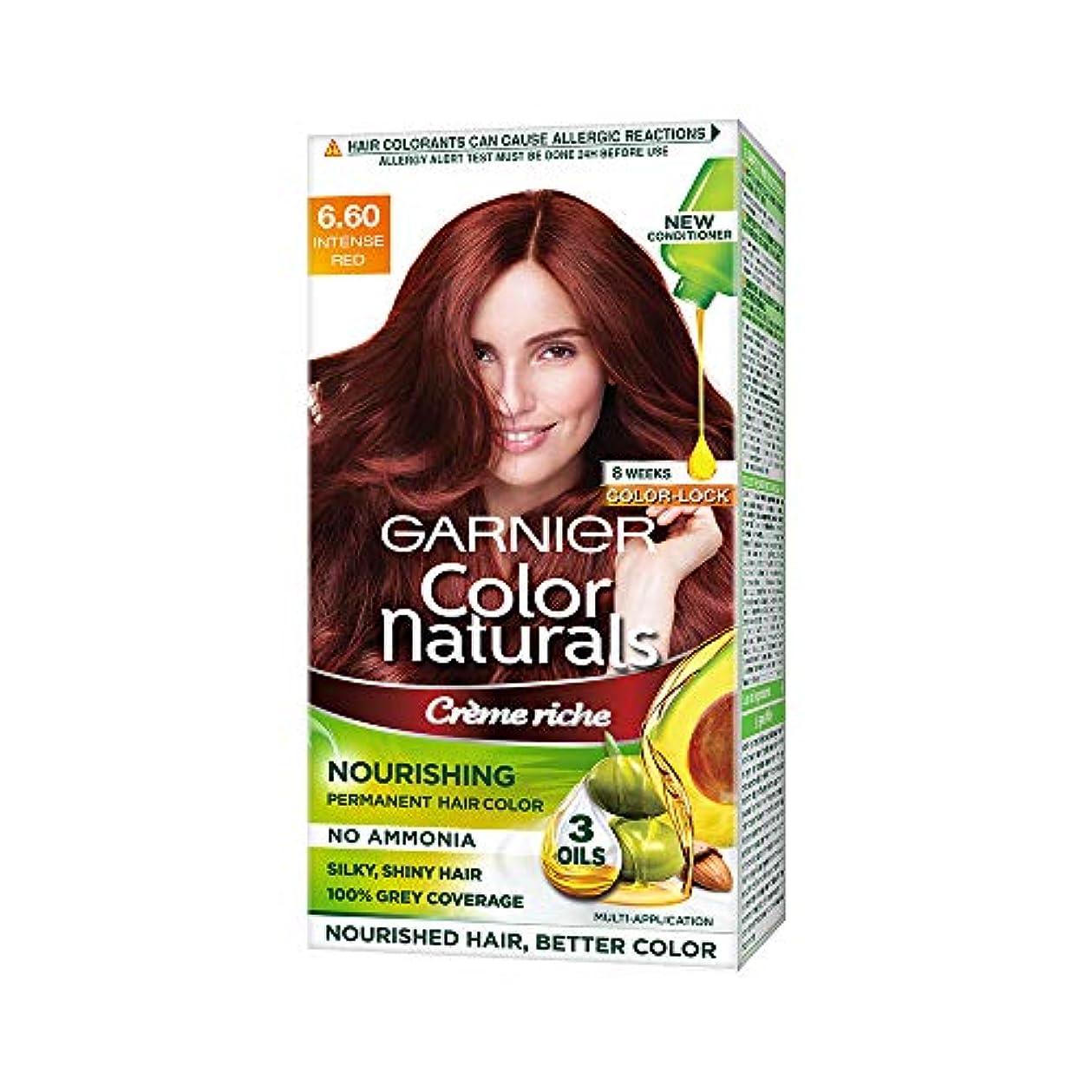 記録五十流産Garnier Color Naturals, Shade 6.60, Intense Red