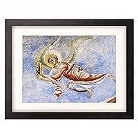 作者不明 (フレスコ画) 「Angel.」 額装アート作品