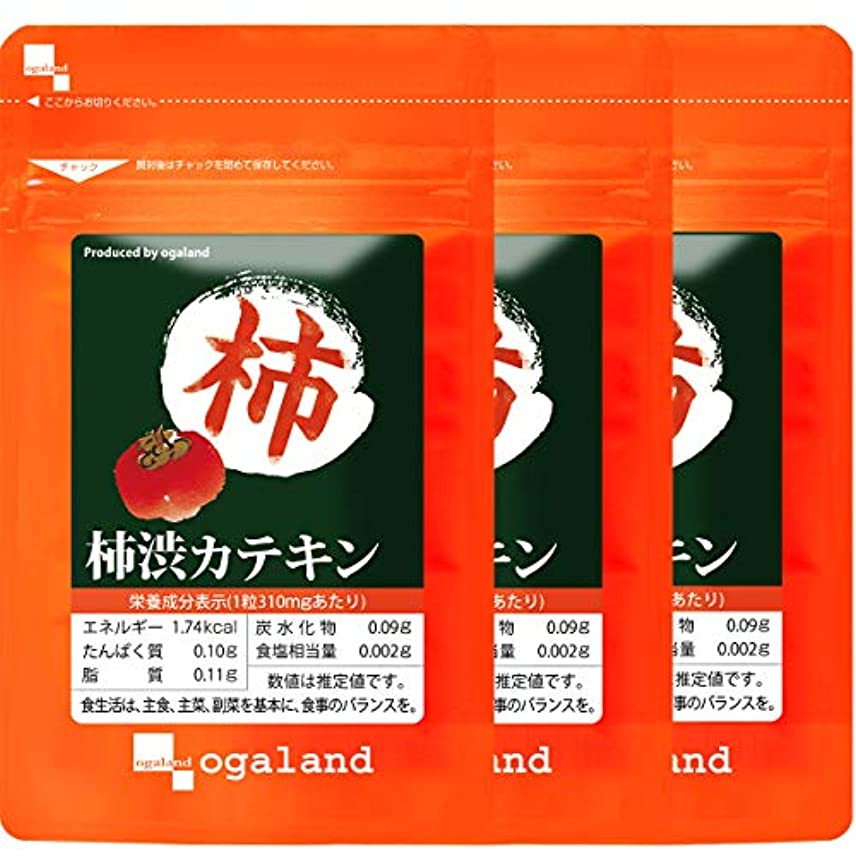 強打カスタムマイクロプロセッサ柿渋 カテキン (180粒/約3ヶ月分)