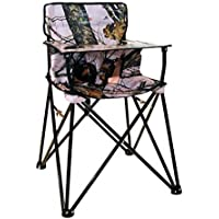 ciao! baby Portable High Chair, Pink Camo [並行輸入品]