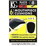 BG マウスピース クッション ラージ 0.8mm 6枚入り ブラック A10L