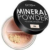 [GOSH ] おやっミネラルフルカバーファンデーションパウダーアイボリー002 - GOSH Mineral Full Coverage Foundation Powder Ivory 002 [並行輸入品]