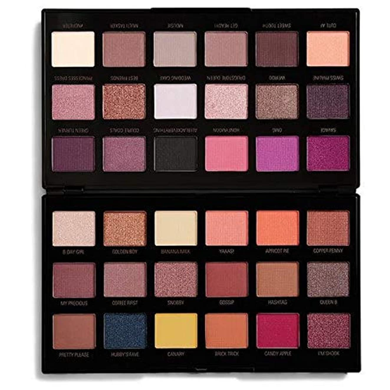 可塑性光沢のある若者[Revolution ] 化粧革命のXペトラアイシャドウパレット - Makeup Revolution X Petra Eye Shadow Palette [並行輸入品]