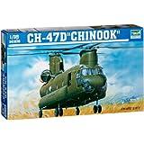 トランペッター 1/35 CH-47D チヌーク 大型輸送ヘリコプター プラモデル