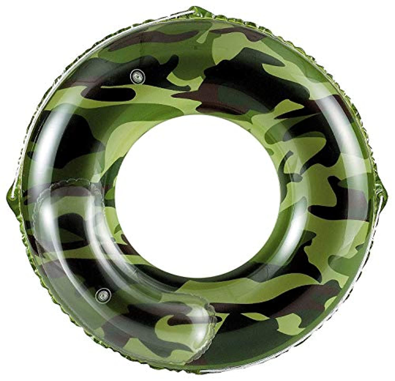 ドウシシャ 浮き輪 100cm アーミー