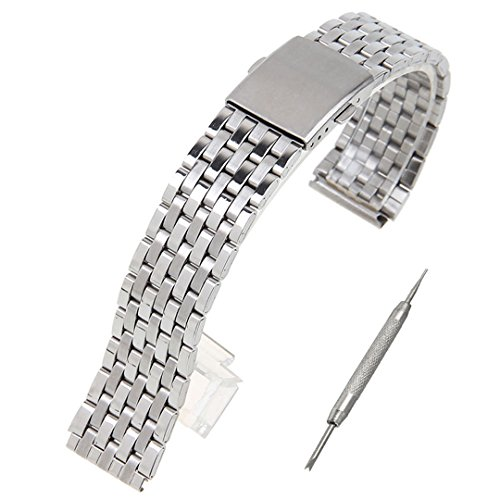 [해외]스테인리스 시계 밴드 스트랩 교환 밴드 스프링 봉 포함/Stainless steel watch band strap exchange band with spring stick