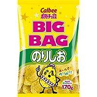 カルビー ポテトチップス ビッグバック のりしお 170g × 12袋