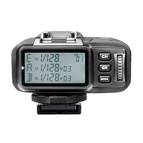 Neewer N1T-S TTL 2.4G 32チャネルワイヤレスフラッシュトリガートランスミッタ Mi ホッとシュー付きのSony A77II A7RII A7R A58 A99 A6000 カメラ、スタジオフラッシュとフラッシュスピードライトに対応