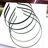 50x Metal空白ヘッドチェーンジュエリーヘッドバンドヘッドピースヘアバンドDIYクラフト
