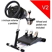 Deluxe Racing Steering Wheelstand for Thrustmaster T300RS(PS4) TX458(Xbox One)TX Leather,T150 and TMX! Original Wheel Stand Pro Stand V2. Wheel and Pedals Not included [並行輸入品]