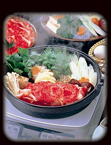 イシガキ産業 味の匠 IH対応 すき焼き鍋 22cm 3563
