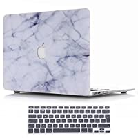 Macbook Pro 15.4 Inch with Retina Display Case and Keyboard Cover,SUNWAY Ultra Thin Beautiful Marble Hard Case Cover With Keyboard Cover for Macbook Pro 15.4 Inch with Retina Display(A1398)