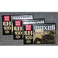 Maxell XLII-S 100 High Bias Cassette Tape (3-Pack) [並行輸入品]