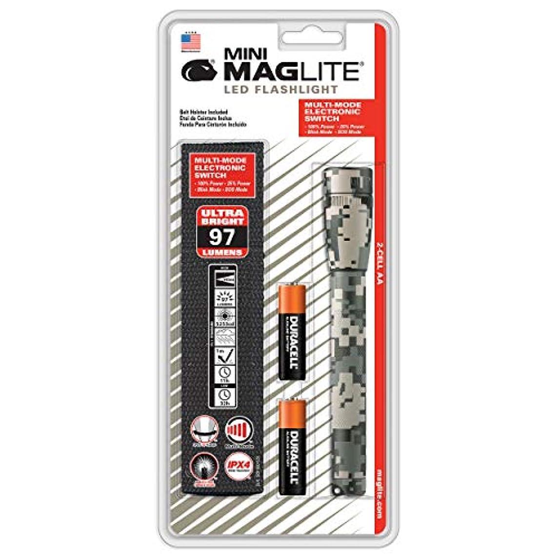 ところで評決保険MAG-LITE(マグライト) LED ミニマグ 2AA 3WATT デジタルカモ