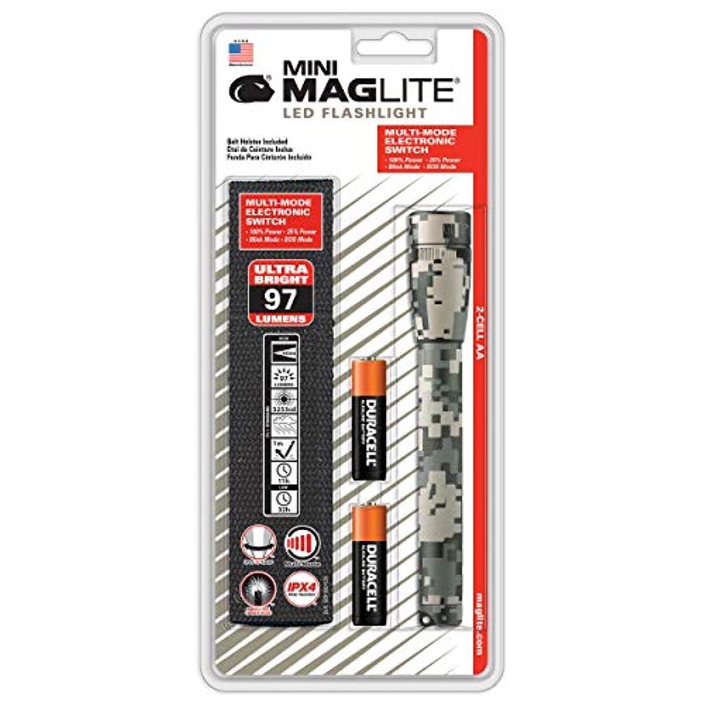 フィクション男やもめ子孫MAG-LITE(マグライト) LED ミニマグ 2AA 3WATT デジタルカモ