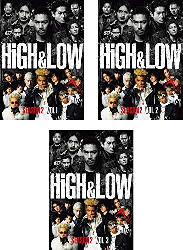 HiGH&LOW SEASON2  全3巻セット [マーケットプレイスDVDセット商品]