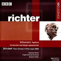 シューマン:蝶々/序奏とアレグロ・アパショナート/シューベルト:ピアノ・ソナタ第21番(リヒテル)(1963-1965)