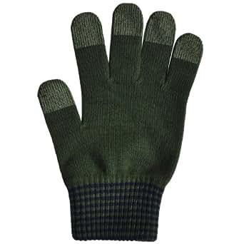 ミドリ安全 スマホ手袋 smarttouch 5112 《カフスボーダー》 グリーン