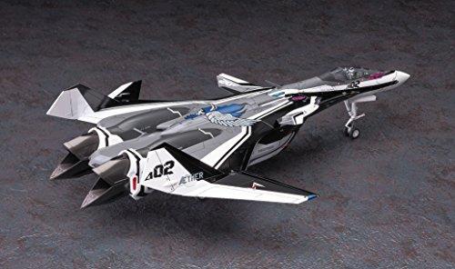 ハセガワ マクロスシリーズ 劇場版マクロスデルタ VF-31F ジークフリード メッサー機/ハヤテ搭乗機 w/リル・ドラケン 1/72スケール プラモデル 65844