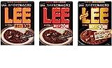 江崎グリコ 激辛ビーフカレー『 LEE(リー)辛さ×10倍+20倍+30倍 』食べ比べセット