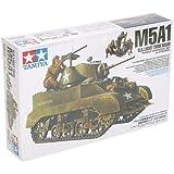 タミヤ 1/35 ミリタリーミニチュアシリーズ No.313 アメリカ陸軍 軽戦車 M5A1 ヘッジホッグ 追撃作戦セット 人形4体付 プラモデル 35313