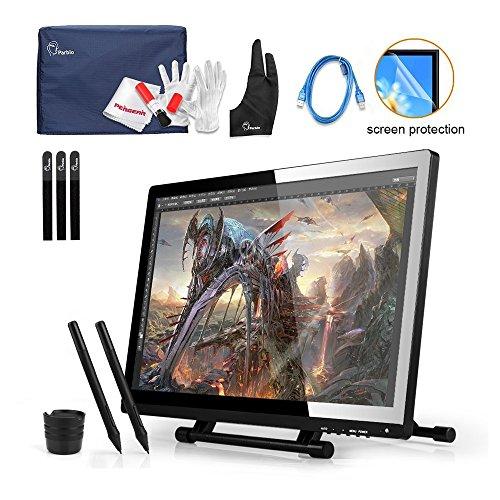 """Ugee UG-2150 21.5"""" ペン タブレットモニター ペンディスプレイ Pergearクリーンキット付属 IPSパネル HD解像度 (21.5"""" IPS Monitor+2 Pens+2 USB Cables)"""