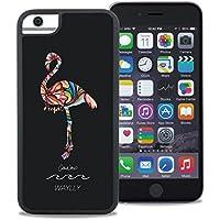 WAYLLY × Colleen Malia Wilcox フラミンゴ iPhone 6/7/8 専用ケース [くっつくケース] (ウェイリー)
