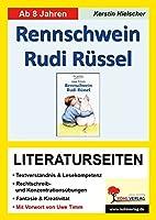 Rennschwein Rudi Ruessel / Literaturseiten: Literaturseiten mit Loesungen