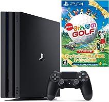 PlayStation 4 Pro ジェット・ブラック 1TB (CUH-7100BB01)【数量限定特典 New みんなのGOLF ダウンロード版付】