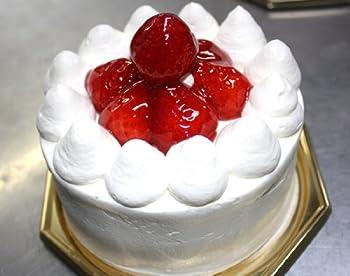卵・小麦・乳製品アレルギー対応苺デコレーションケーキ 6号