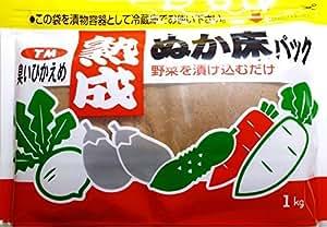 奈良つけもん屋の 熟成ぬか床パック(冷蔵庫用) 1kg